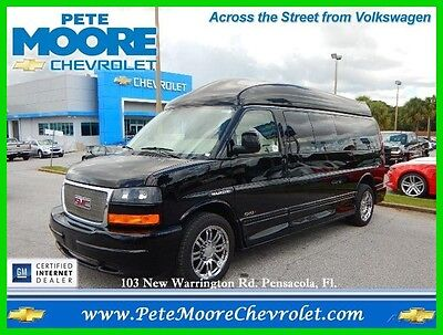 2013 GMC Savana Majestic SSx Hightop Extended 9 Passenger 2013 GMC Savana 2500 Majestic SSx Hightop 9 Passenger One Owner Recent Trade