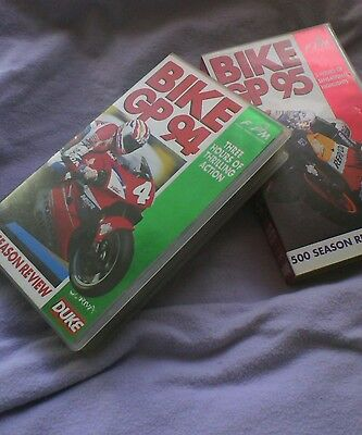 Bike GP 94 and 95 video tapes(2)