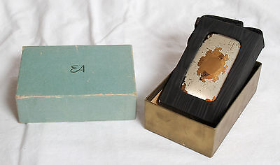 Vintage ELGIN AMERICAN Compact Purse Carryall with Original Box and Carrier