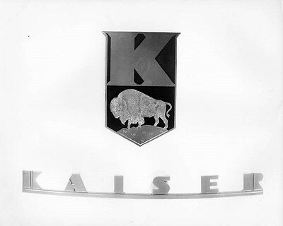 1948 Kaiser Crest ORIGINAL Factory Photo oad5159-IBNEWL