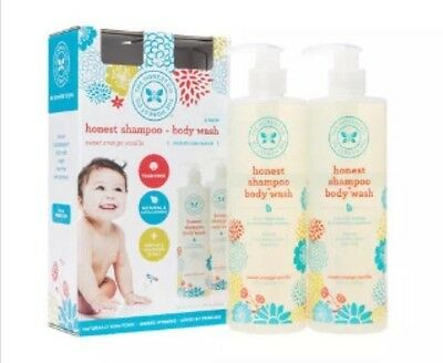 The Honest Company Shampoo and Body Wash 2-17 oz, FREE SHIPPING BEST SERVICES