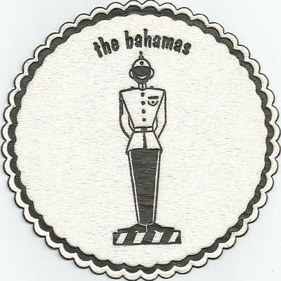 Bahamas Traffic Policeman Paper Bar Coaster