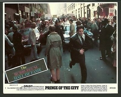 Prince of the City Trent Williams  Lobby Card
