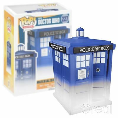 "New Doctor Who 6"" Materialising TARDIS Pop! Vinyl Figure 227 Funko Official"