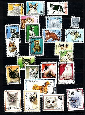 Thematics All Different Cats Collection 41 includes Miniature Sheets
