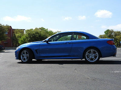 2016 BMW 4-Series 428i 4 Series BMW 428i Convertible-M Sport-BMW COURTESY CAR CURRENTLY IN-SERVICE 2 dr