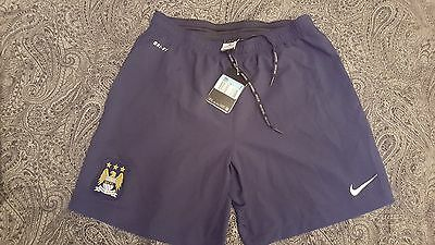 Manchester City FC football shorts  DRI - FIT Size M - Authentic