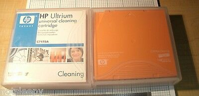 HP Ultrium LTO Universal Cleaning Cartridge C7978A - LOT of  2