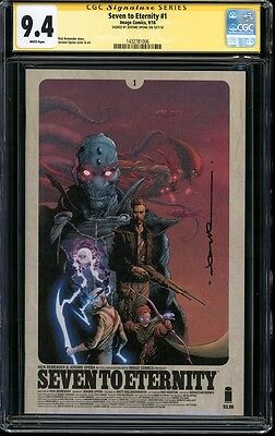 CGC SS 9.4 Seven to Eternity Signed by Jerome Opena 1st Print not 9.8