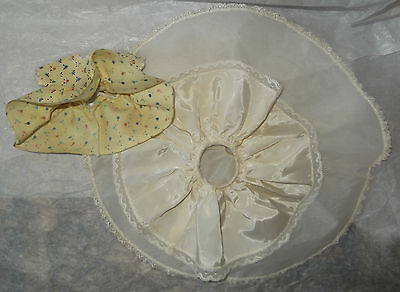 "Vintage 1958 Vogue 10"" Jill Doll Slip for the Wedding Dress Costume w/ Additions"