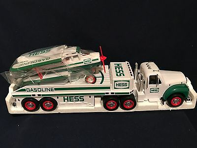 2002 Collectible  Hess Toy Truck And Airplane  - New In Box