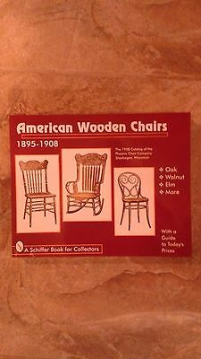 Wood Chair Book 1895-1910 NEW BK AT GREAT PRICE