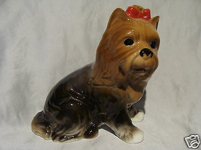 Leonardo Collection Figural Porcelain Dog/puppy/yorkshire Terrier/yorkie Terrier