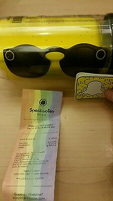 snapchat spectacles black glasses unopened free shipping