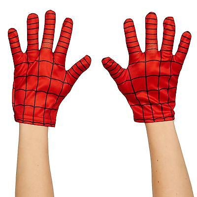 NEW Ultimate Spider-Man Kids Gloves, Standard One-Size, Standard One-Size