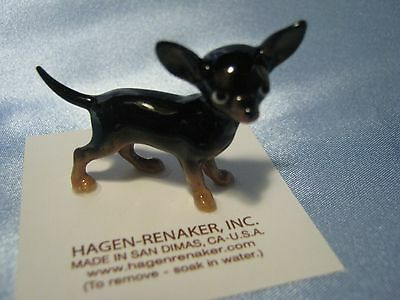 Hagen Renaker Dog Mama Chihuahua Black Figurine Miniature 3511 FREE SHIPPING NEW