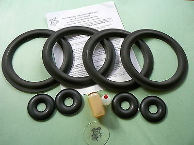 Kef Reference Series 104/2 & Model Three  Replacement Foam Surround Kit