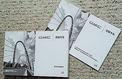 2015 Gmc Canyon Owners Manuals