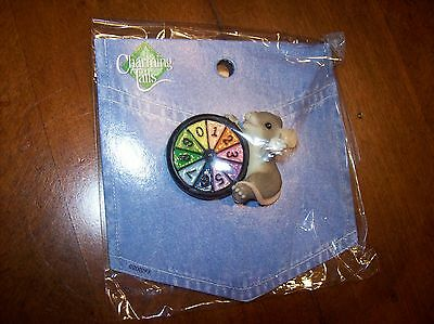 Charming Tails Mouse Pin with Wheel of Furtune Wheel Charming Tails Pin