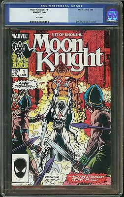 Moon Knight #1 CGC 9.8 NM/MT Marvel Comics Chris Warner cover and art