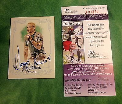 Henry Rollins - Autographed / Signed Allen & Ginter Card - JSA Authenticated