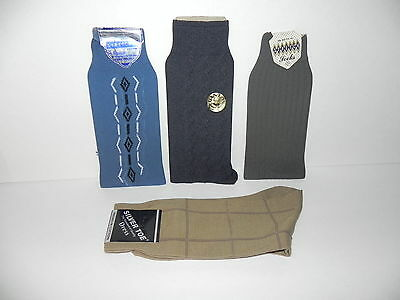 Vintage Mens Dress Socks New with Tags! - 4 Pairs