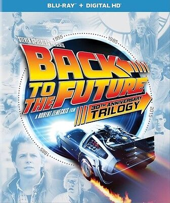Back To The Future 30th Anniversary Trilogy - 4 DISC SET (2015, Blu-ray New)