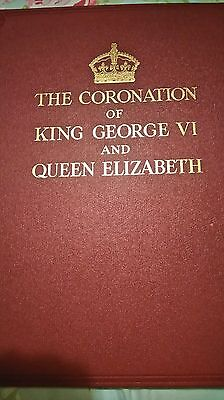 The Coronation of King George VI and Queen Elizabeth - Antique Royal Book 1930s