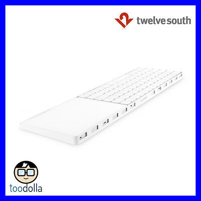 TWELVE SOUTH MagicBridge - Connector/Holder for Magic Trackpad 2 and Keyboard