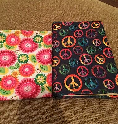2 Jumbo Stretchable Book Covers