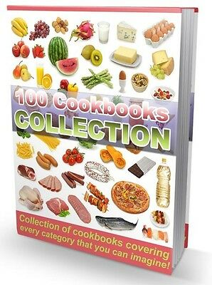 100 Cookbooks Collection eBook-PDF Master Resell Rights