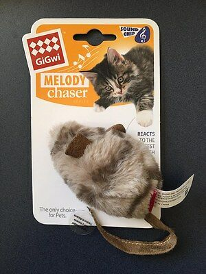 GiGwi Cat Melody Chaser Mouse Motion Active Cat Toy