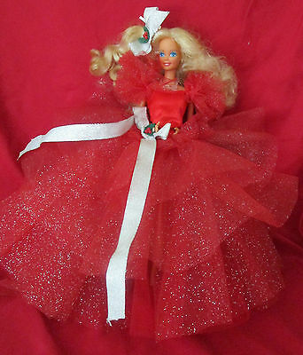 1st HOLIDAY BARBIE 1988