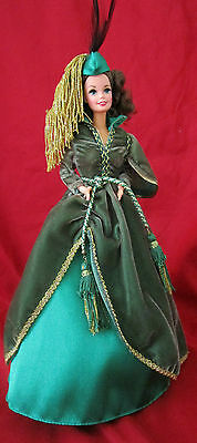 Scarlet O'hara Hollywood Legends Green Drapery Gown
