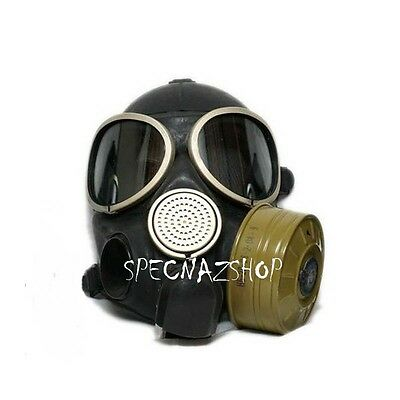 Russian ARMY ISSUE MILITARY GRADE Tactical Gas Mask PMK-3 FULL SET Sizes: 1 2 3