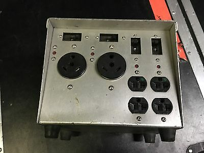 AC Power Distribution, Inc LB100-30RV lunch box 100amp bates connector