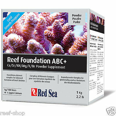 Red Sea Reef Foundation ABC+ Complete Coral Powder Supplement FREE USA SHIPPING!