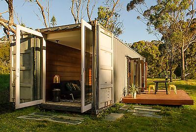 Tiny House , Pre fab Cabin, Studio - POD - SHIPPING CONTAINER