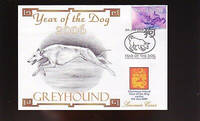Greyhound Year Of The Dog 2006 Souvenir Cover 1