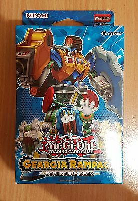 Yugioh! GEARGIA RAMPAGE Structure Deck, 1st edition, English, Unopened