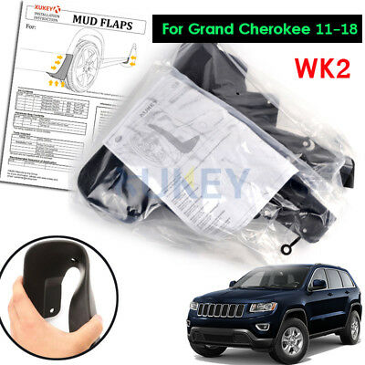 Front&rear Fit For 2011~2016 Jeep Grand Cherokee V2 Mud Flap Flaps Splash Guards