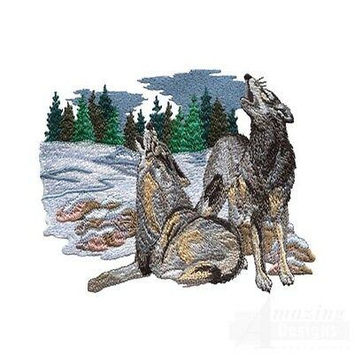 Majestic Wolves Collection - Machine Embroidery Designs On Cd