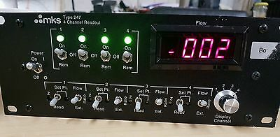 MKS Instruments - 247D Four Channel Power Supply/Readout