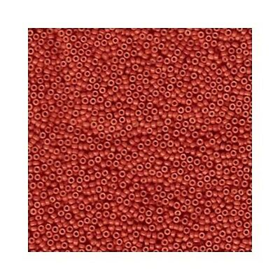 Miyuki Seed Beads 15/0 Round 15-1464 Opaque Maroon Red 8.2g Glass Rocaille Tiny