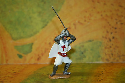 Timpo Conversion Knight defending with Kettlehelmet  no.1  1/32