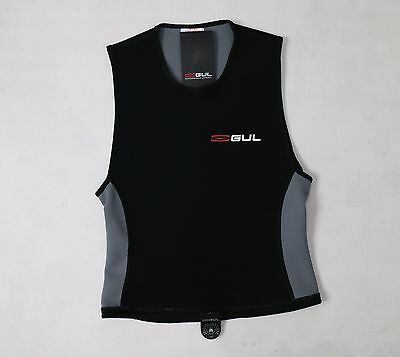 GUL MENS L LARGE WETSUIT RASH VEST 1.5mm NEOPRENE THERMO THERMAL SLEEVELESS