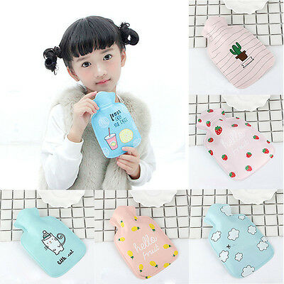 Kids Lovely Mini Cartoon Hot Water Bottles Winter Warm Hands Hot Water Bottle