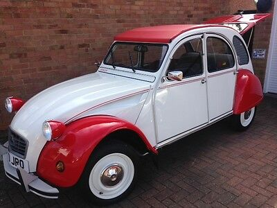 1986 Citroen 2Cv6 Dolly Red/white. Fully Rebuilt. Stunning Car.