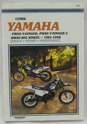 Clymer Workshop Manual For Yamaha Pw50 & Pw80