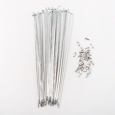 283mm wheel steel wire spokes 14# Raw wire 36 Pack of bike bicycle